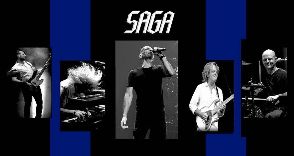 image Le groupe Saga en spectacle au Québec cette semaine!